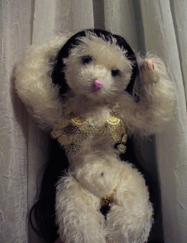 Miranda The Costumed Bear From Scratching At The Window